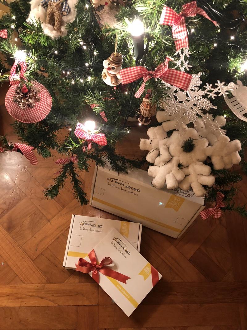 Sailpost  le spedizioni per Natale finalmente arrivano in tempo ... 89a62589667f